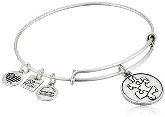 Alex and Ani Charity By Design Piece of The Puzzle National Autism Association Bangle Bracelet