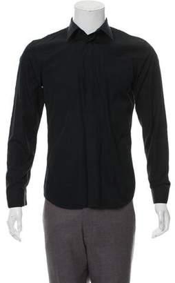 Givenchy Hidden Placket Button-Up Shirt
