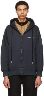 Facetasm Black Logo Hoodie
