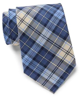 Tommy Hilfiger Silk Kilt Plaid Tie