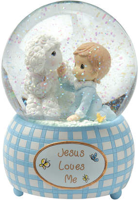 Precious Moments Jesus Loves Me Snow Globe, Boy