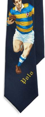 Ralph Lauren Rugby Player Wool Tie