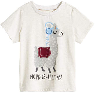 First Impressions Baby Boys Llama-Print T-Shirt, Created for Macy's