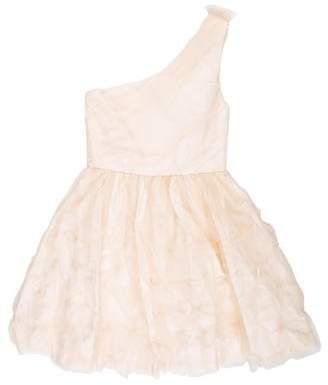 Alice + Olivia Silk-Blend Dress