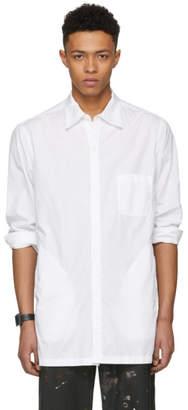 Yohji Yamamoto White Open Chain Shirt