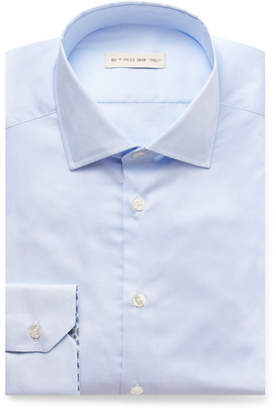 Etro Light-Blue Slim-Fit Cotton Shirt - Men - Blue