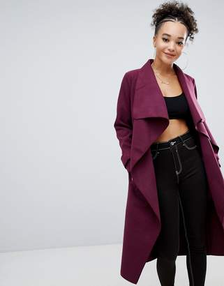 Missguided oversized duster coat