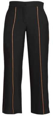 Loewe Piping Cropped Trousers