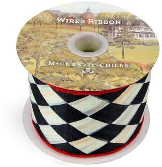 Mackenzie Childs Mackenzie-childs Harlequin Gift Wrap Ribbon