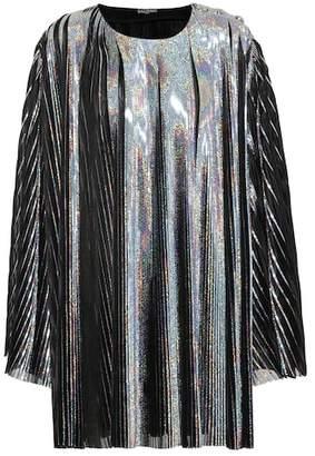 Balmain Metallic minidress