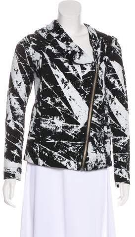 Helmut Lang Printed Hoodie Jacket