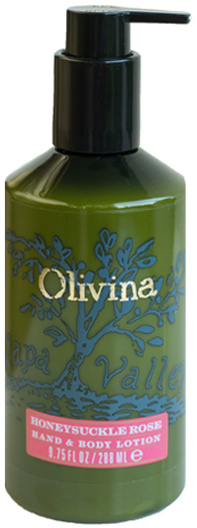 Olivina Honeysuckle Rose Hand and Body Lotion