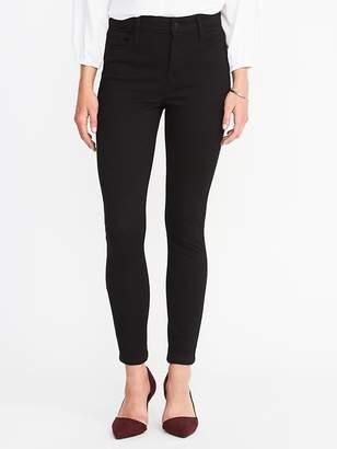 Old Navy High-Rise Rockstar 24/7 Super Skinny Black Jeans for Women
