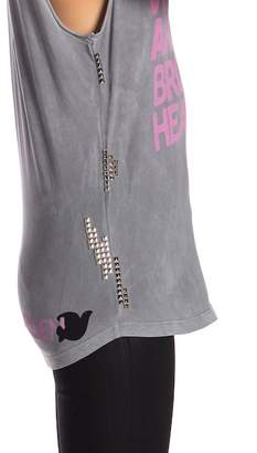 Freecity Free City Broken Hearted Studded Tank Top