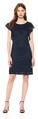 Adrianna Papell Women's Tunic with Short Sleeves