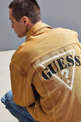 GUESS 1981 Oversized Denim Trucker Jacket