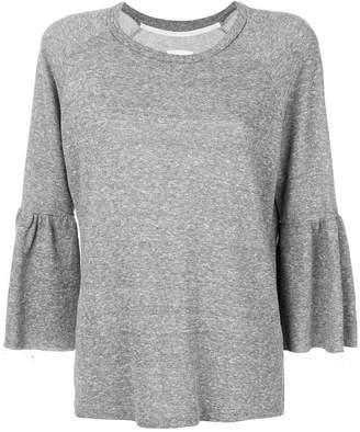 Current/Elliott flared loose sweater