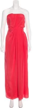 Thakoon Strapless Maxi Dress