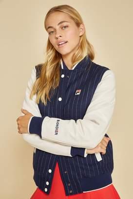 Fila Bandier X Melton Wool Varsity Jacket