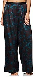 Eres Women's Eugene Beryl Silk Pajama Pants - Turquoise
