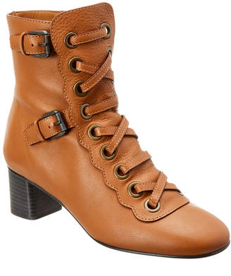 Chloé Orson Leather Ankle Boot