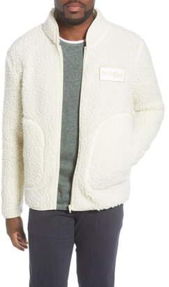 NN07 Mort 3443 Slim Fit High Pile Fleece Jacket