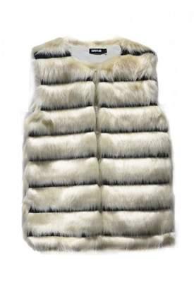 Pink Poodle Boutique Faux Fur Vest