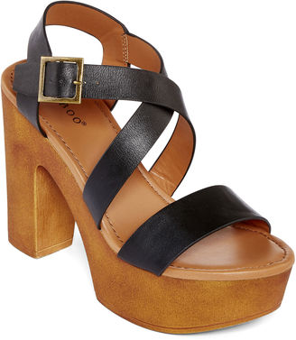 Bamboo Blessed Platform Sandals $40 thestylecure.com