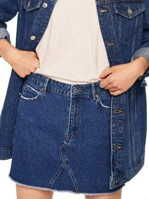 MANGO Organic Denim Skirt