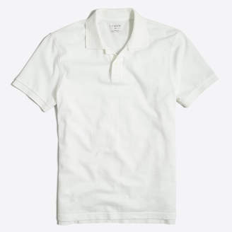 J.Crew Factory Washed piqué polo shirt