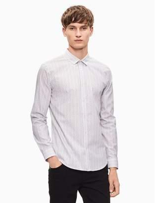 Calvin Klein slim fit chainlink shirt