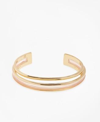Brooks Brothers Plique-a-Jour Enamel Cuff Bracelet