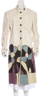 Marni Suede Long Coat
