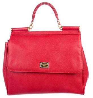 Dolce & Gabbana Medium Miss Sicily Leather Bag