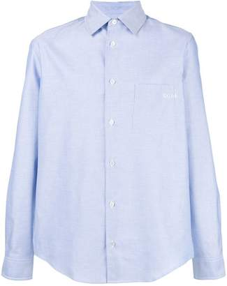 Golden Goose classic curved hem shirt