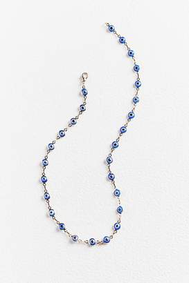 Urban Outfitters Evil Eye Bead Necklace