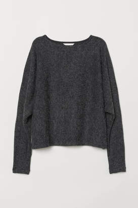H&M Sweater with Dolman Sleeves - Black