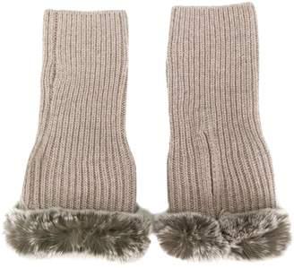 N.Peal finger-less gloves