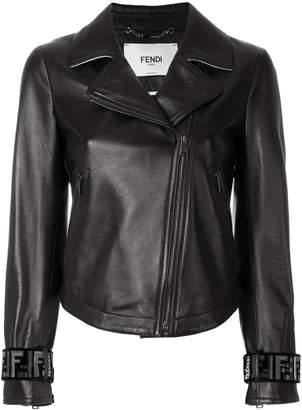 Fendi biker jacket