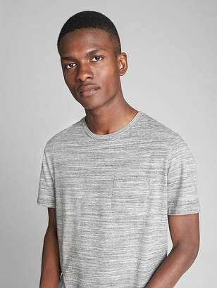 Gap Spacedye Pocket T-Shirt