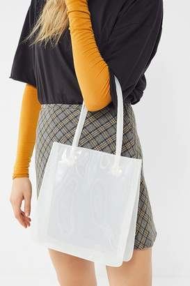 Urban Outfitters Clear Mini Lady Tote Bag