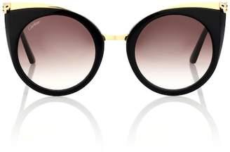 Cartier Eyewear Collection Panthère de cat-eye sunglasses