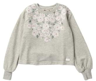 7 For All Mankind Raglan Sweatshirt (Big Girls)