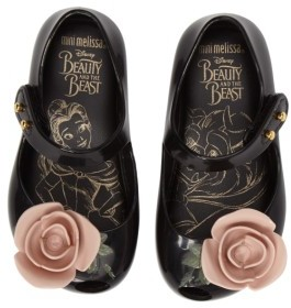 Toddler Girl's Mini Melissa Ultragirl Beauty & The Beast Mary Jane Flat 2