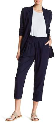 Abound High Rise Linen Blend Cropped Pants