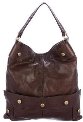 Givenchy Grained Leather Satchel Brown Grained Leather Satchel
