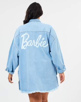 Barbie Denim Shacket