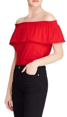 Lauren Ralph Lauren Off-the-Shoulder Jersey Top