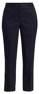 Donna Karan Women's Pinstripe Pants - Size 0