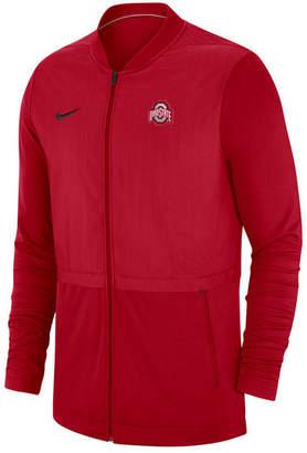 Nike Men's Ohio State Buckeyes Elite Hybrid Full-Zip Jacket